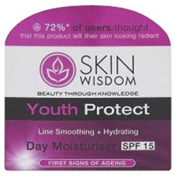 Skin Wisdom Youth Protect Day Moisturiser SPF15 50ml
