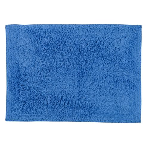 Tesco Bath Mat Royal Blue
