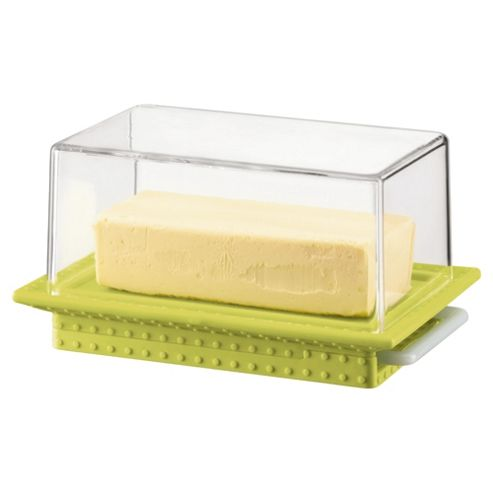 Bodum Bistro Butter Dish with Dome, Lime