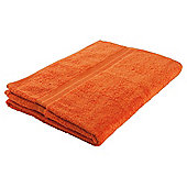 Tesco Hand Towel Orange