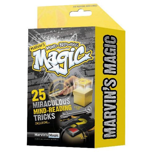 Marvin's Magic Mind Blowing Theme Set - 25 Incredible Tricks (Styles May Vary)