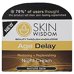 Skin Wisdom Age Delay Night Cream 50ml