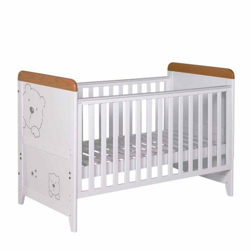 Tutti Bambini 3 Bears Cot Bed, White