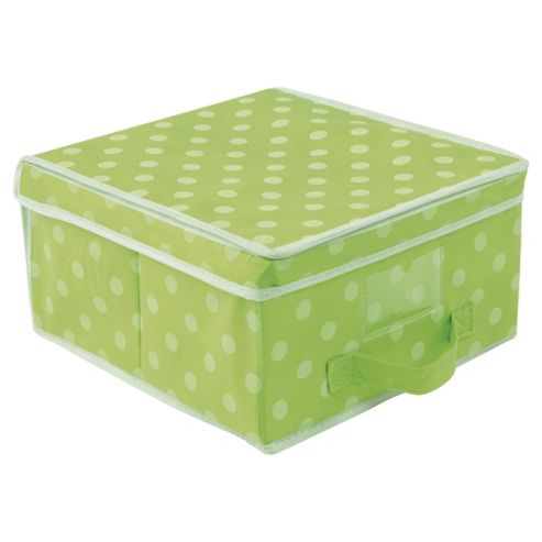 Pois Small Storage Box - Green