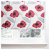Poppy Roller Blind 60x160cm Red