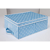 Pois box, large blue