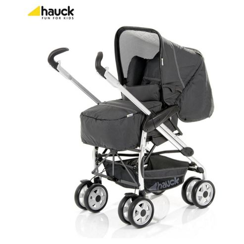 Buy Hauck Eagle Trioset Pushchair Travel System Charcoal