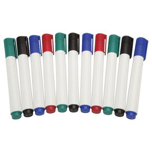 Tesco Whiteboard Marker Pens, 12 Pack