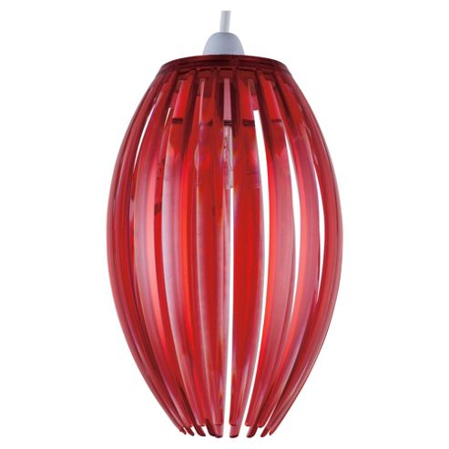 Tesco Lighting Marti Nonelec Acrylic Pendant Red