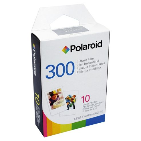Polaroid PIF300 Colour Film - 10 Exposures