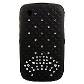 Bliss Hard Case BlackBerry 8520/9300 Black Crown