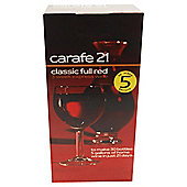 Carafe Classic Full Red 30 bottle