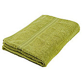 Tesco Hand Towel Lime