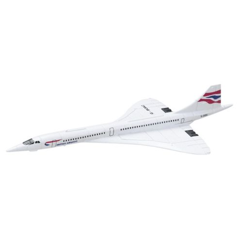 Corgi Toys Cs90597 Concorde Fit The Box Die Cast Aircraft