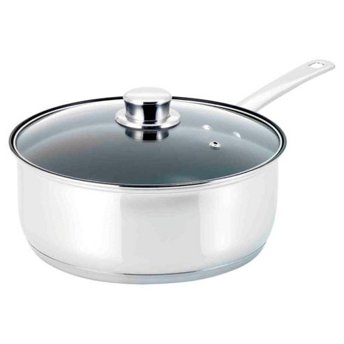 Viners Elements 24cm Stainless Steel Chef's Pan