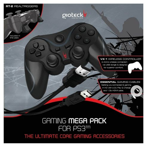 Gioteck Gaming Mega Pack (PS3)