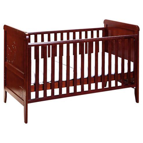 Tutti Bambini Peek A Boo Cot Bed, Coffee