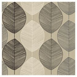 Arthouse Retro Leaf Taupe