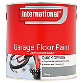 International Qd Garage Floor Paint Grey 2.5l