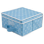 Pois Box Small 28x30x15.5cm Blue