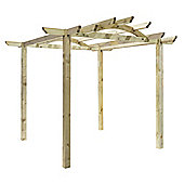 Tetbury Pergola - Includes Bolt Down Anchors