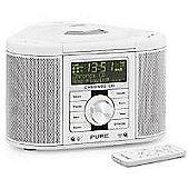 Pure Chronos Cd Ii Cd/Dab/Dab+/Fm Alarm System (White)