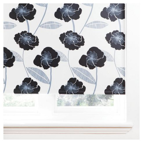 Poppy Roller Blind 120x160cm Black
