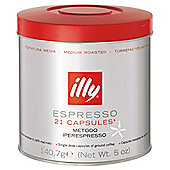 Illy espresso medium roast capsules