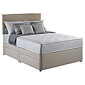 Silentnight Pocket Essentials Double 4 Drawer Divan Bed