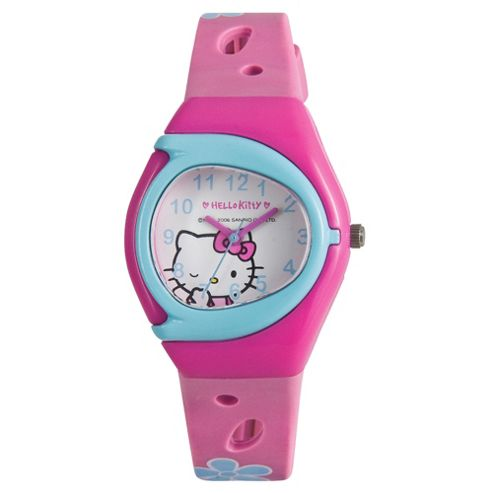 ZEON Ltd Hello Kitty Anologue Watch Pink