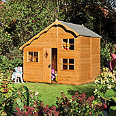 Rowlinson 8ft x 6ft Playaway Cottage Wooden Playhouse