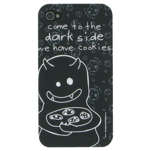 David & Goliath Come to the Dark Side Plastic Case for Apple iPhone 4/4S - Black