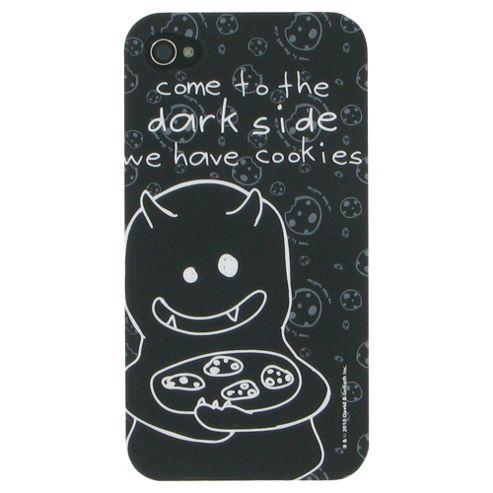 David & Goliath Come to the Dark Side Plastic Case for Apple iPhone 4/4S - Black