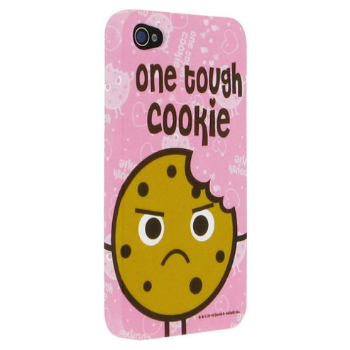 David & Goliath Tough Cookie Plastic Case for Apple iPhone 4/4S - Pink