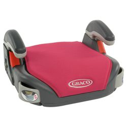 Graco Car Booster Seat, Berry