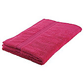 Tesco Hand Towel Raspberry