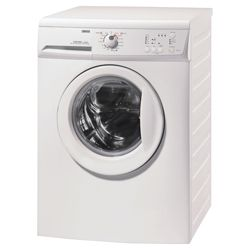 Zanussi ZWG6161p Washing Machine, 6kg Wash Load, 1600 RPM Spin, A Energy Rating. White