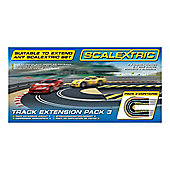 Scalextric C8512 Track Extension Pack 3 Hairpin Curve 1:32 Scale Accessory