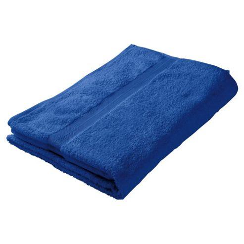 Tesco Bath Sheet Electric Blue