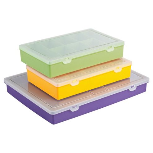 Wham organiser, large 3 pack