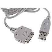 USB charger sync or data transfer for the iPad, iPod, iPhone