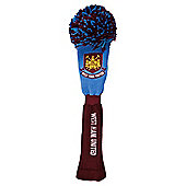 West Ham United Golf Driver Head Cover Pompom