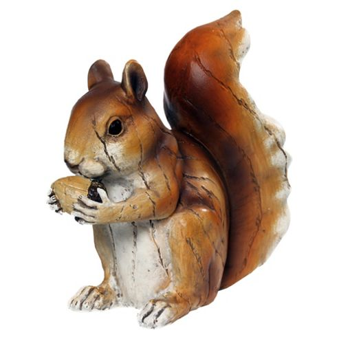 Woodland Friends Wooden Effect Squirrel