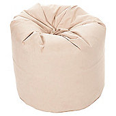 Kaikoo Faux Suede Bean Bag, Latte