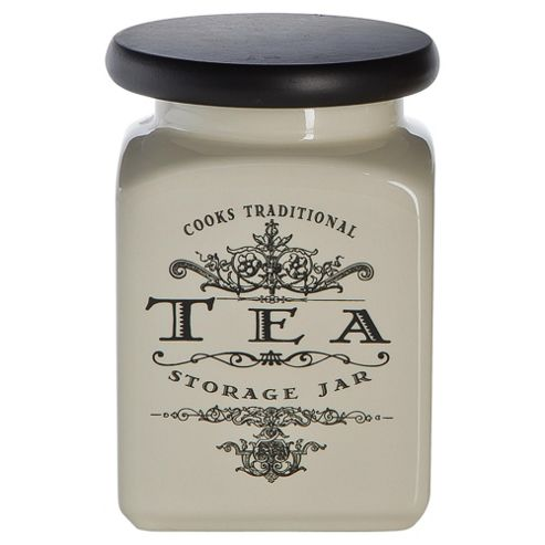 Tesco Cooks Traditional Tea Canister