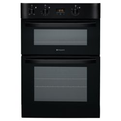Hotpoint DH53K Black Built In Double Oven
