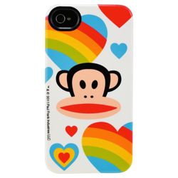 Paul Frank Deflector Case for Apple iPhone 4/4S - Rainbows are Magic
