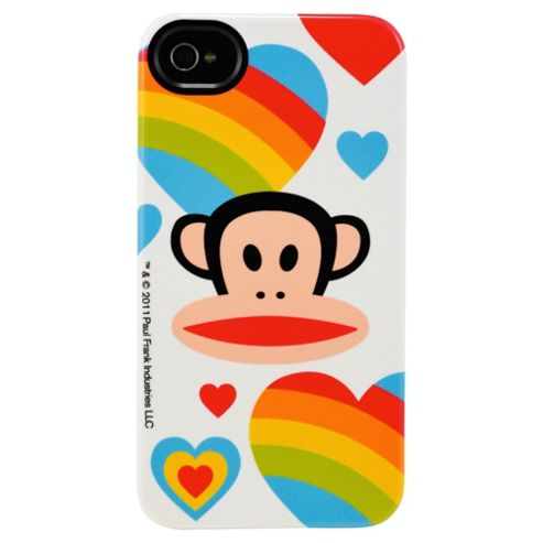 Paul Frank Deflector Case for Apple iPhone 4/4S - Rainbows are Magic