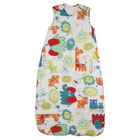 Grobag Baby Sleeping Bag, Doddle Zoo, 2.5 tog 6-18 Months