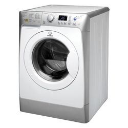 Indesit PWE91472S Washing Machine, 9kg Wash Load, 1400 RPM Spin, A++ Energy Rating. Silver